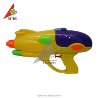 Long-distance water game plastic toy model yellow custom water gun