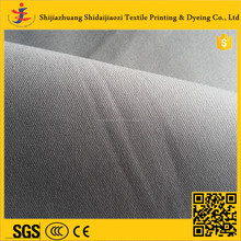 Fashion Garment Twill Woven 100% Cotton Plain Dyed Uniform Fabric