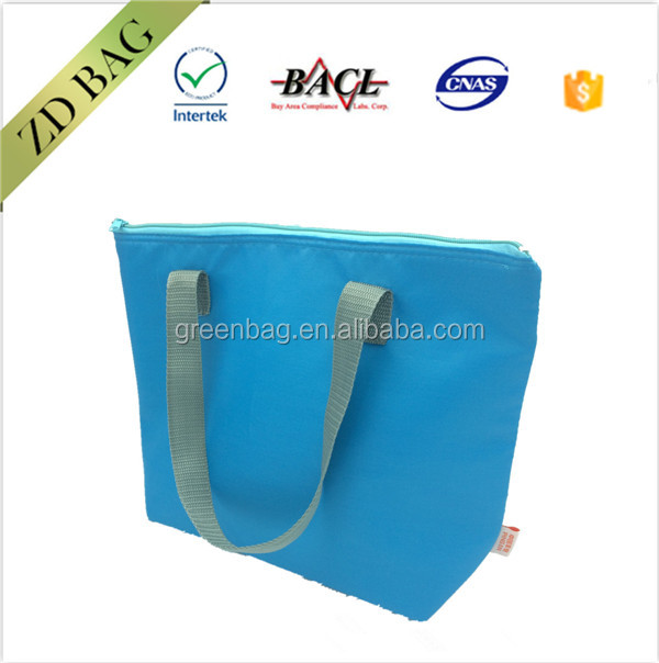 Blank 420D Polyester Tote cheap cooler bag