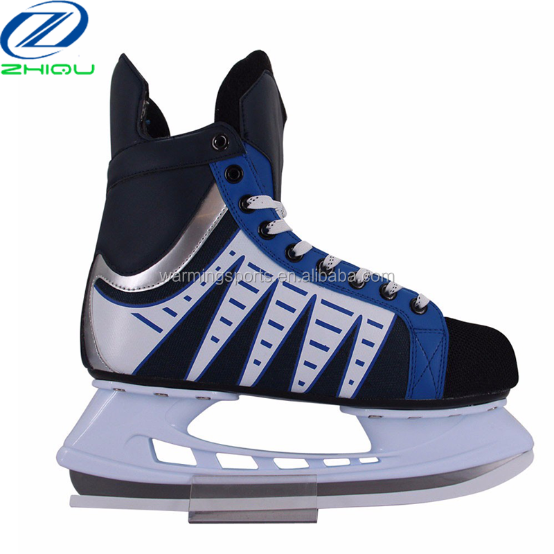 2017 new type high quality ice skate design with deiffrent color of ice hockey skates for sale