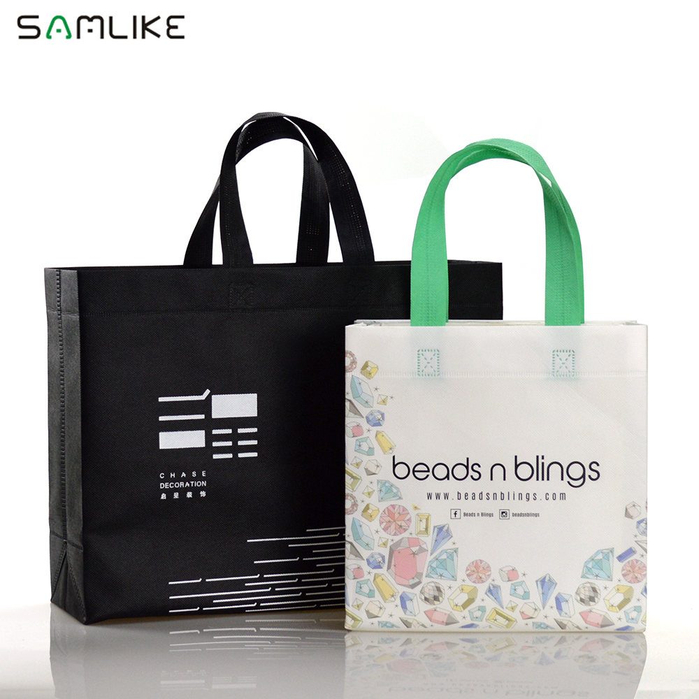 Wholesale Price Custom Printed <strong>Eco</strong> Friendly Recycle Reusable Non Woven Tote Shopping Bags