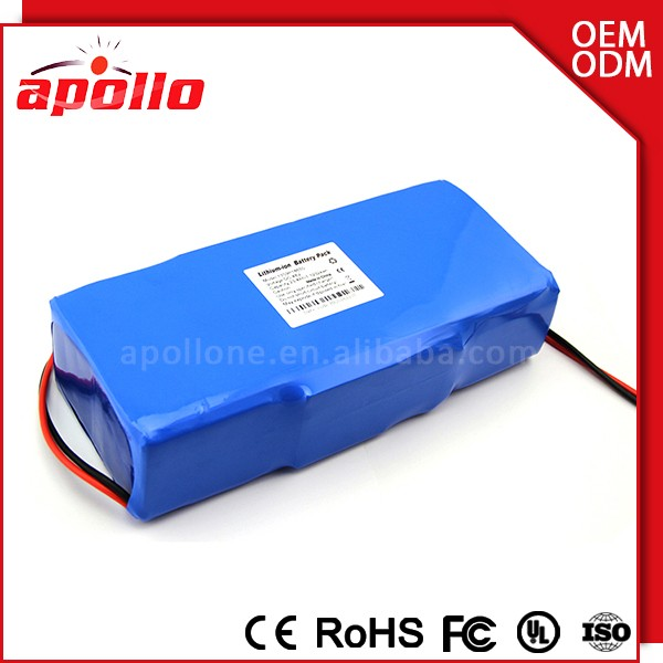 Durable Cycles E-bike Battery 36v 16ah Lifepo4 Battery Lithium with BMS Ensure Safety