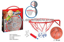 basketball board,basket ball play set,Metal ring basketball board game toys with ball and pump for children,Manufactory