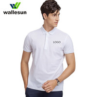 CUSTOM LOGO MEN'S SHORT SLEEVE POLO SHIRTS / T-SHIRTS / POLO TEE