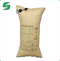 Factory wholesale multi layer brown kraft paper dunnage bags