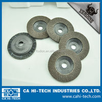 Plastic backing Calcined Alumina Grinder discs for hard metal