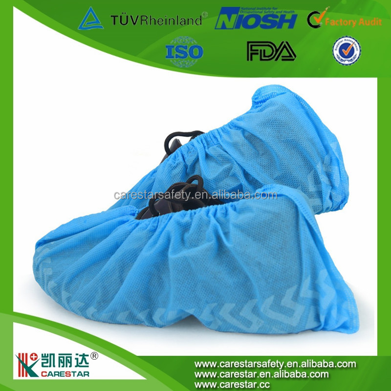 Medical Supplies Disposable Antiskid Nonwoven SBPP Foot Shoe Cover