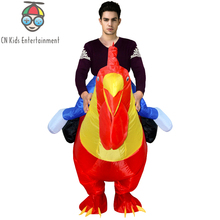 large inflatable chicken mascot costume