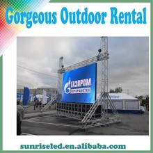 Sunrise painel de led screen led die casting p6 dip outdoor p6 led display smd