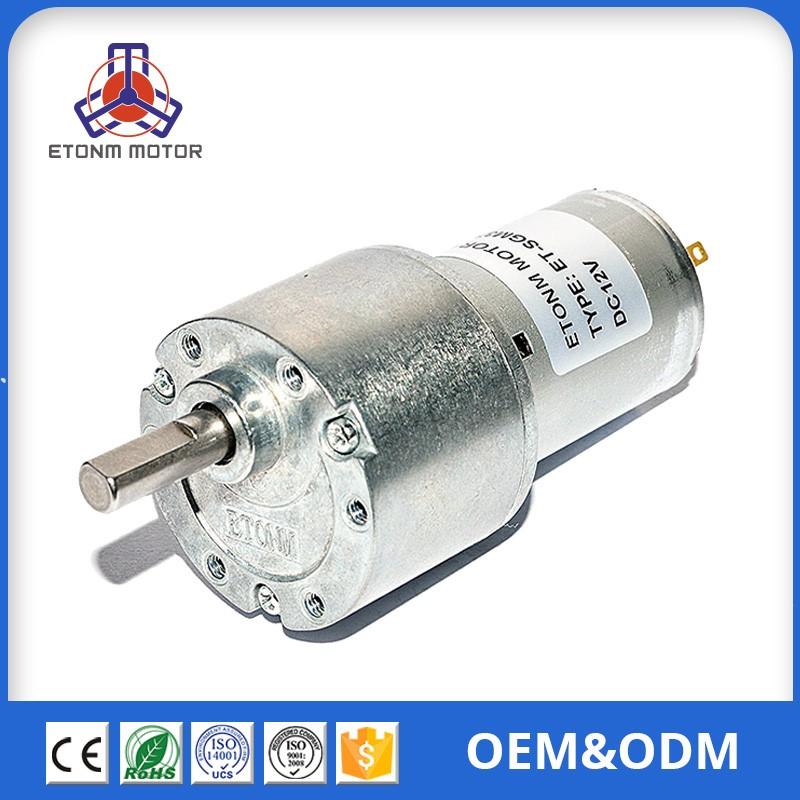 37mm 12 V Motores Dc Cepillado 400 Rpm Motor Dc