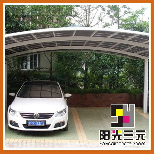 Posto auto coperto esterno usato posti auto coperti per la for Garage per auto modulari 3