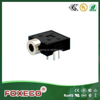 3.5mm phone jack DIP 3 pin connector terminals of stereo phone jack type TG-260