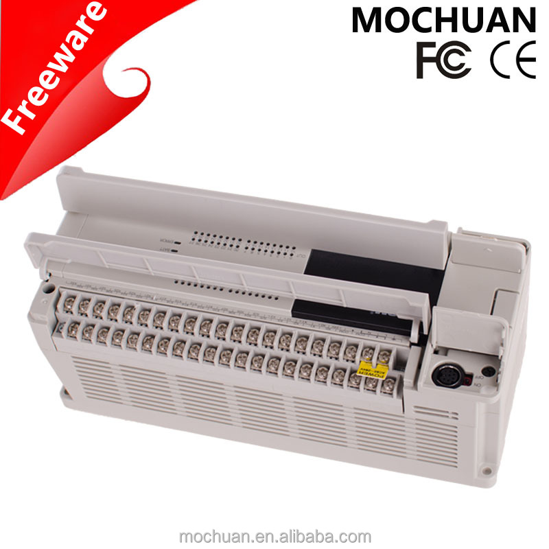 chinese DC24V AC220V low cost small plc with low price