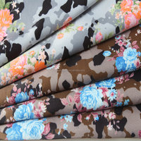 raw shoe making material camouflage fabric textile