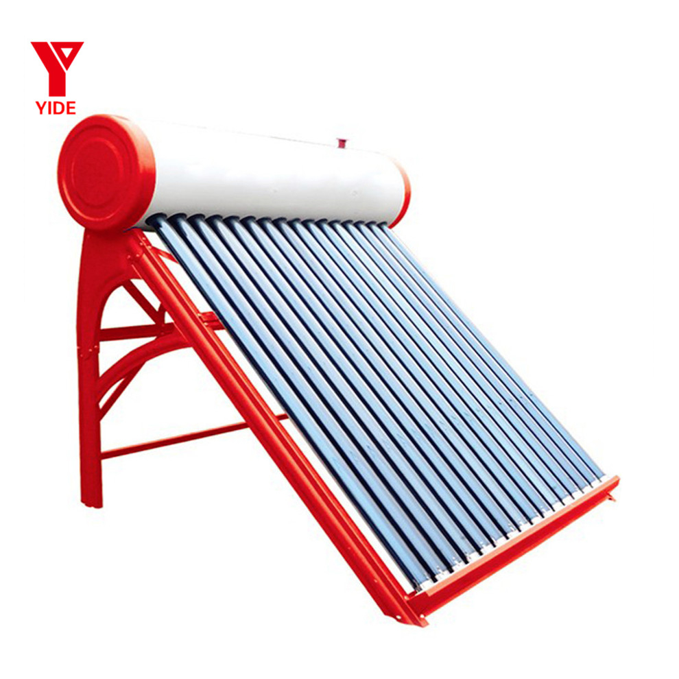 100L Hot Sales Flat Panels Solar water heater Black Chromed/Blue Sputtered FPanel Solar System