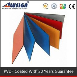 Alusign outdoor usage self cleaning nano acp panels wall paint