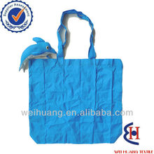 nylon dolphins shape shopping bags