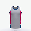 Dry Fit Custom Running Funny Singlets