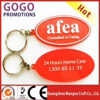 Factory activity New Rotating Key Chain,Customized promotional giveaway gift pvc keychain /3D soft PVC key rings