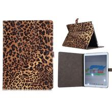 Hot Selling Leopard Skin Magnetic Flip PU Leather Stand Case for iPad Pro 12.9 Inch
