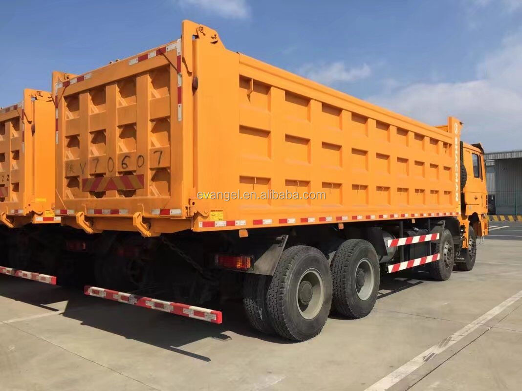 Shacman Supplier 40t 8x4 dump truck F2000 Euro 3