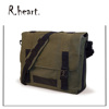 Military shoulder ECO Laptop Messenger for Laptops up to 17.3-Inch (Green)