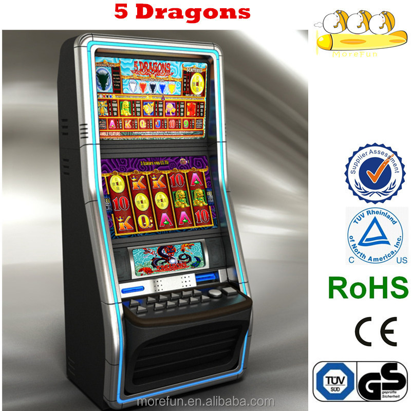Poker machines 5 dragons