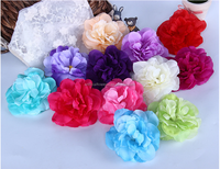 Hot sale spring artificial flower head dahlia