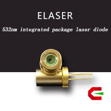 Directly using 100 pieces per tray low power 532nm laser beam