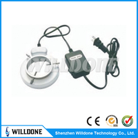 8W fluorescent ring light for microscope supplier