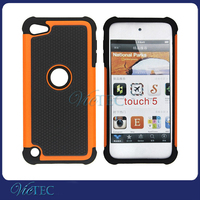 Newest Football Grain Anti Shock Combo 3 in 1 Cover for iPod Touch 5 Case