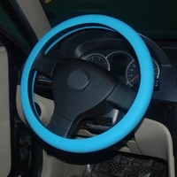 Eco friendly silicone products steering wheel covers for most of auto cars