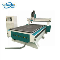 Yishun 1300*2500mm3 axis CNC wood carving and engraving machine wood stair cnc router machine china high quality 1325 wood car