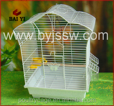 Metal Chrome Wall Mount Bird Cage Price