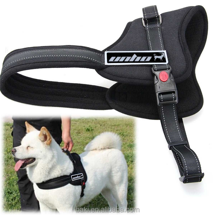 High Quality Nylon Pet Harness OEM china manufacturers custom logo Dog Harness