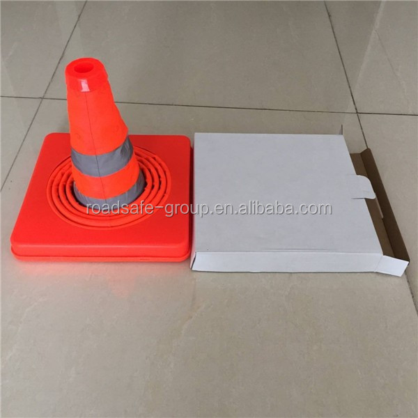 Telescopic road cones
