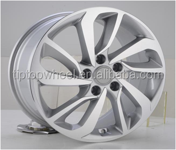 llanta 17 alloy wheel JWL aluminium scrap ET 39mm 5X114.3