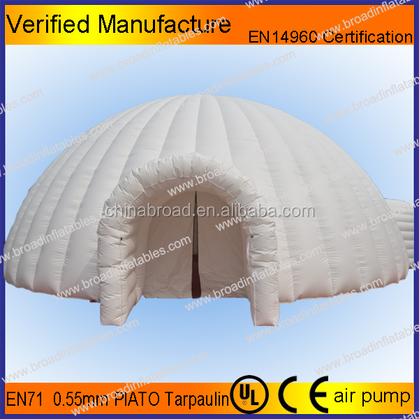 8M inflatable igloo dome structures /inflatable party dome rents /hiring event tent inflatables