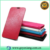 China phone cases flip leather cover flip case for lenovo s930