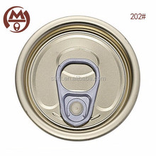 China factory Best price Dia.52mm pull ring full open Tin eoe cap for food can