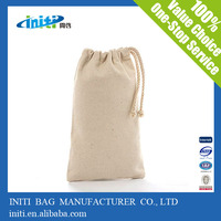 2014 new products alibaba china wholesale wholesale cotton fabric drawstring bag