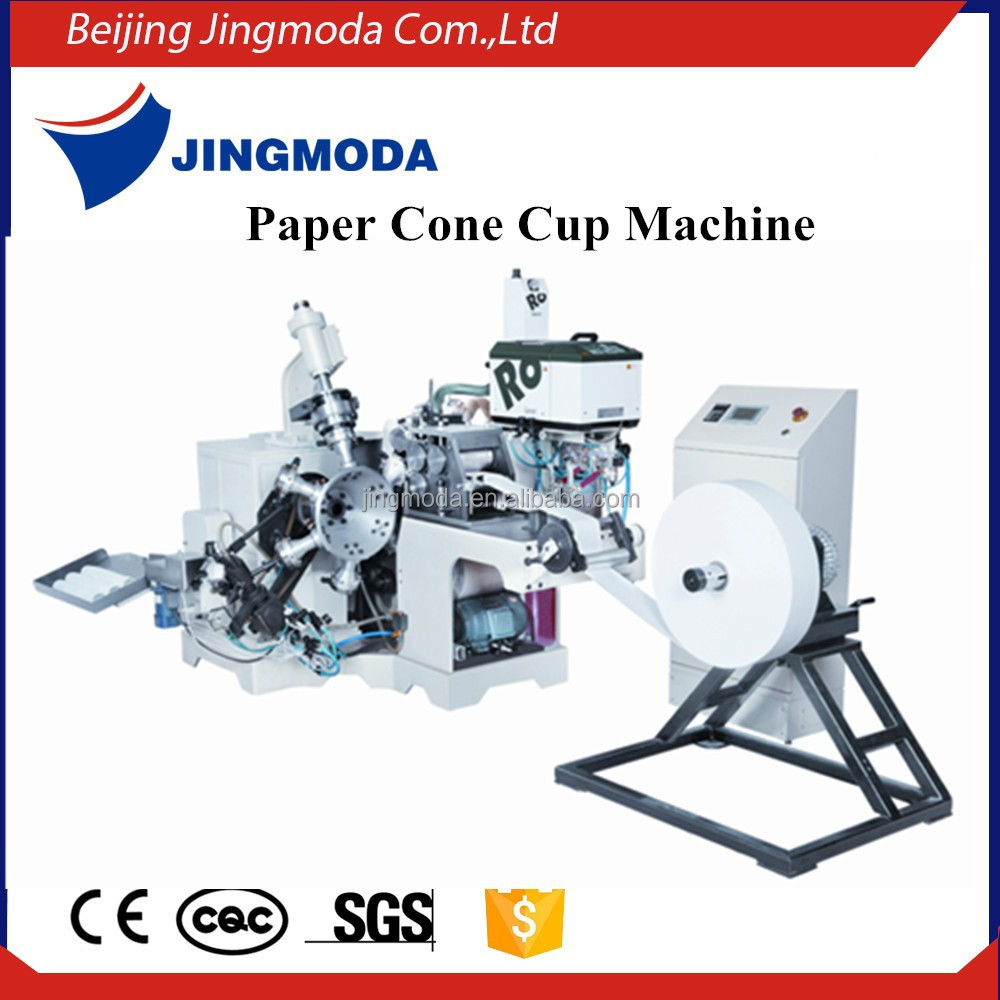 Automatic Ice Cream Cup Paper Cone Sleeve Making Machine