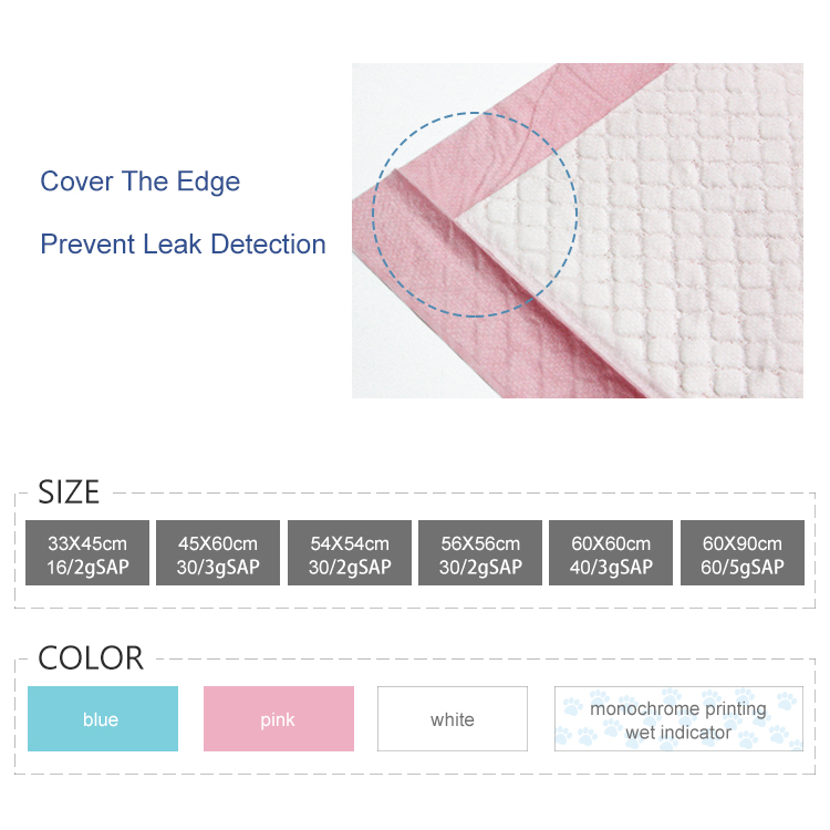 Hospital pads incontinence bed pads Washable adult underpad Disposable menstrual pads