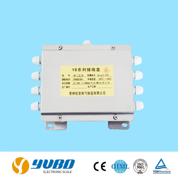 stainless steel electronic explosion-proof junction box ip65