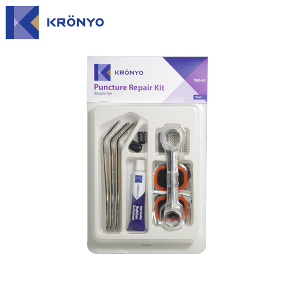 KRONYO TBIC-42 bicycle tire patch tire repair kit
