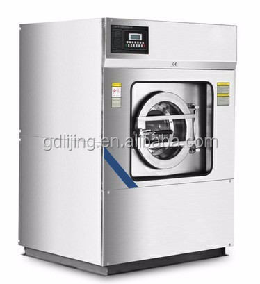 Fully automatic industrial washing machine for laundry use
