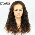 Natural wave indian cuticle aligned hair full lace wigs human hair