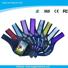 Fabric cheap sports arm bag for amsung galaxy S3/S4