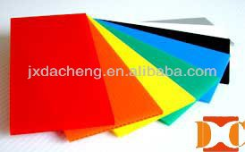 2013 corflute ecofriendly 3mm pp hollow plastic board