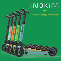 INOKIM Li-ion battery LCD throttle folding electric scooter for adult with up to 30km range